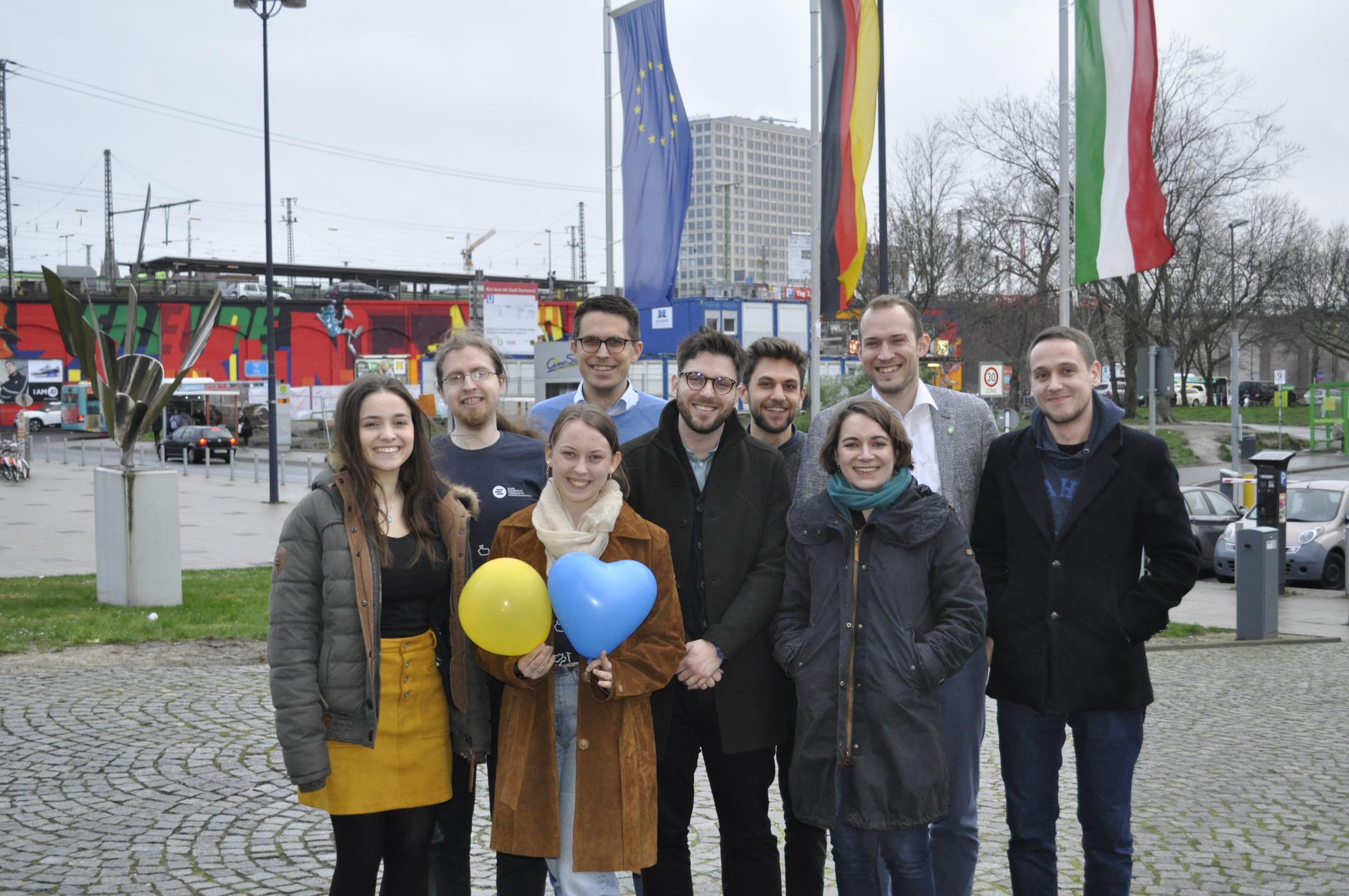 Gruppenfoto Landesvorstand JEF NRW 2020