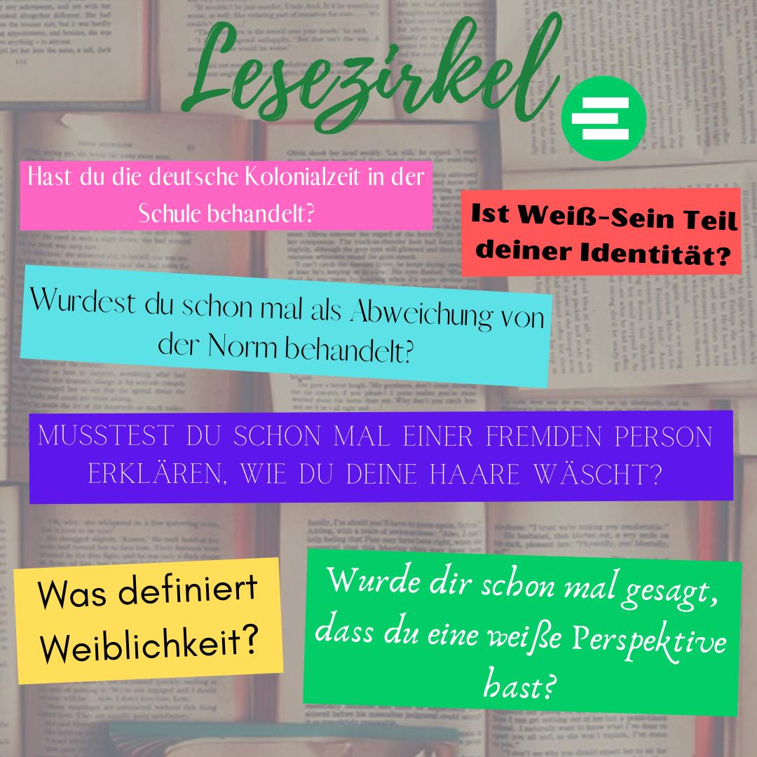 """Lesezirkel """"Exit Racism"""""""