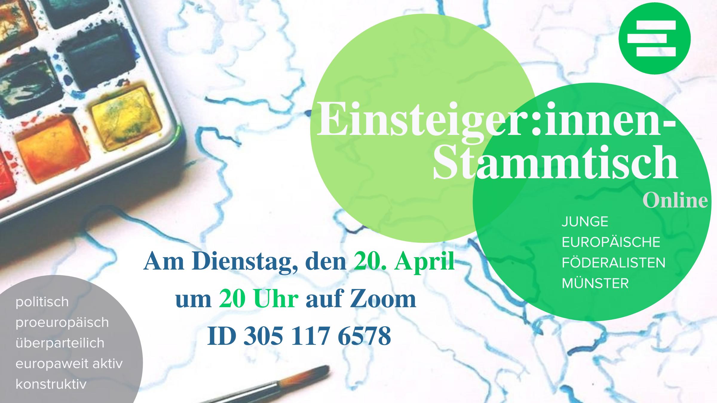 Digitaler Einsteigerstammtisch Münster