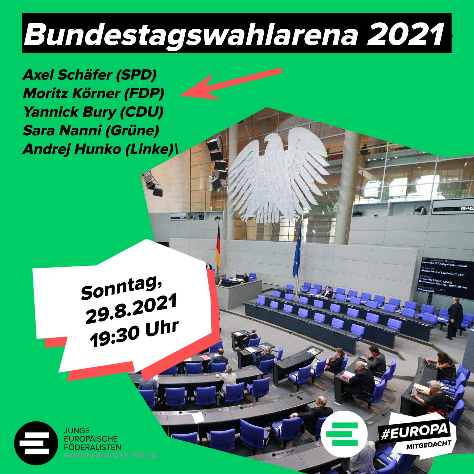 Bundestagswahlarena